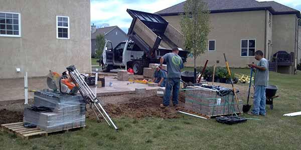 patio installation - Patio Installation