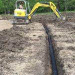 yard drainage-installation